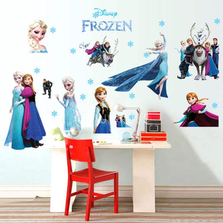 frozen wall stickers - wishque | sri lanka's premium online shop