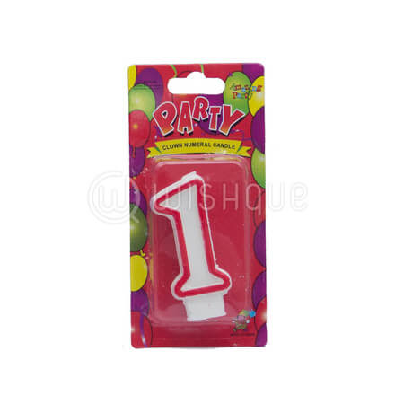 "Number ""1"" Candle"