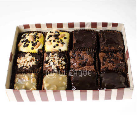 Standard Assorted Brownies 12pcs