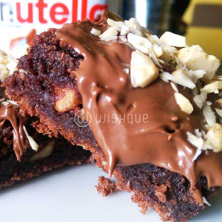 Nutella Brownies 12pcs