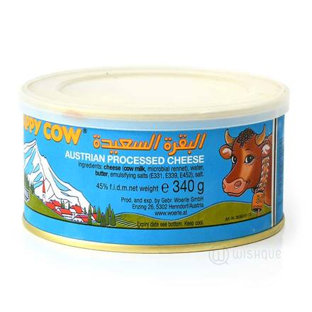 Happy Cow Cheese Tin 340g