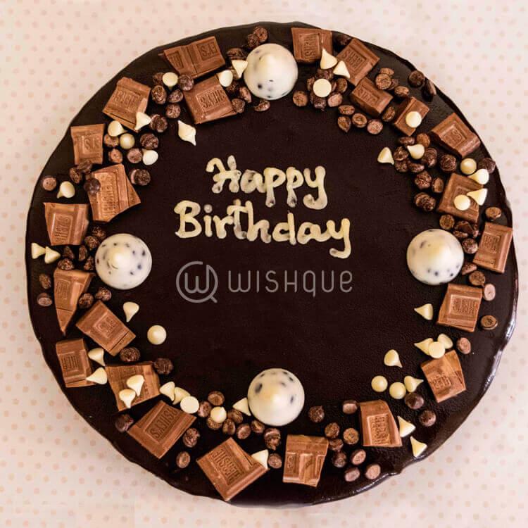 Herscheys Choco Round Cake - Wishque