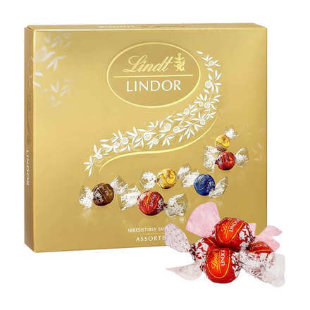 Lindt Lindor Irresistibly Smooth Assorted 150g