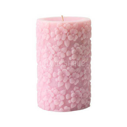Fullgod Fresh Flowers Scented Pink Candle