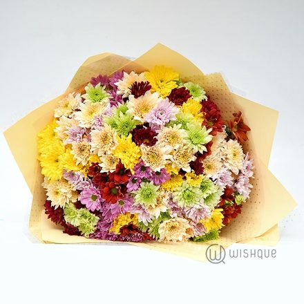 Extra Large Chrysanthemum Bouquet