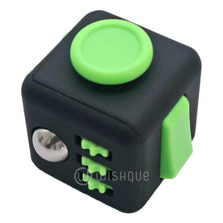Fidget Spinner And Cube