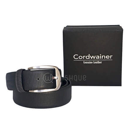 Snake Skin Cordwainer Genuine Leather Men's Belt