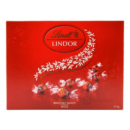 Lindt Lindor Irresistibly Smooth Milk Chocolate Gift Box 235g