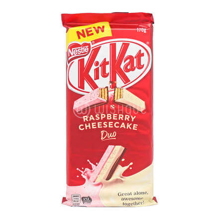 Kit Kat Raspberry Cheesecake Duo 170g