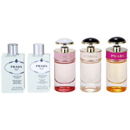 Prada Miniatures Gift Set Collection