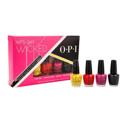O.P.I Let's Get Wicked Mini Nail Lacquer