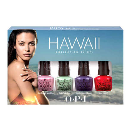O.P.I Hawaii Collection Mini Nail Lacquer