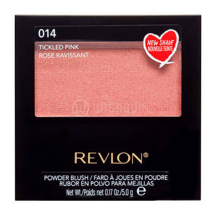 Revlon Powder Blush with Brush 014 Tickled Pink Delightful Beauty