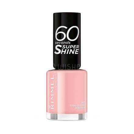 Rimmel London 60 Seconds Nail Polish 262 Ring O' Roses