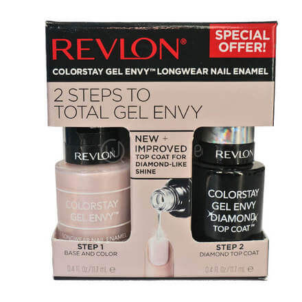 Revlon ColorStay Gel Envy Value Packs, Beginner's Luck + Top Coat