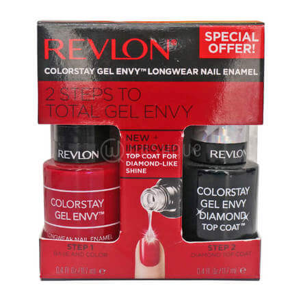 Revlon 2 Step Total Gel Envy 630 Roulette Rush+010 Top Coat