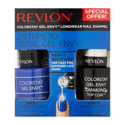 Revlon 2 Step Total Gel Envy 760 Wild Card + 010 Top Coat