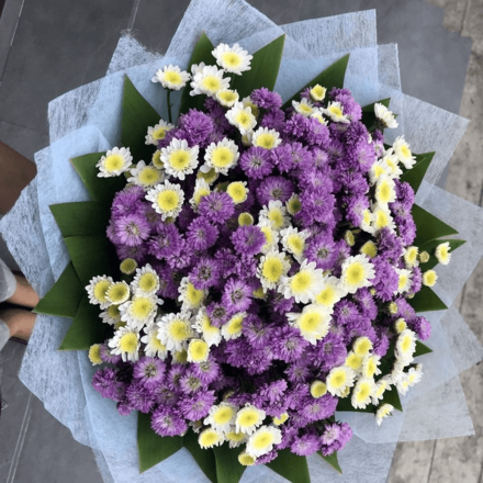 Happy Violet Bouquet