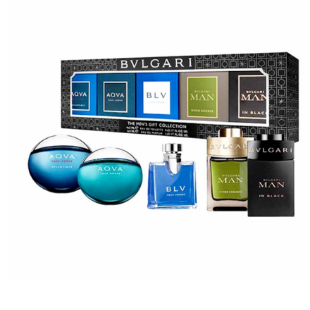 Bvlgari for Men 5 Piece Miniature Set