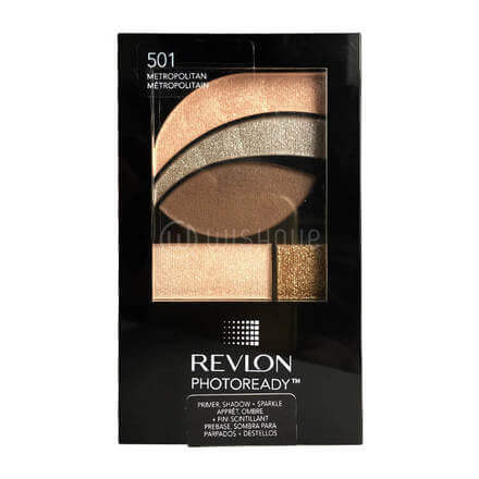 Revlon PhotoReady Primer, Shadow + Sparkle Eyeshadow, 501 Metropolitan