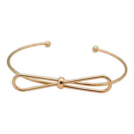 Nickel Free Woman Accessories Bangle(Gold)