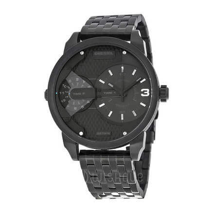 Diesel Men's Mr Daddy Black Stainless Steel Watch