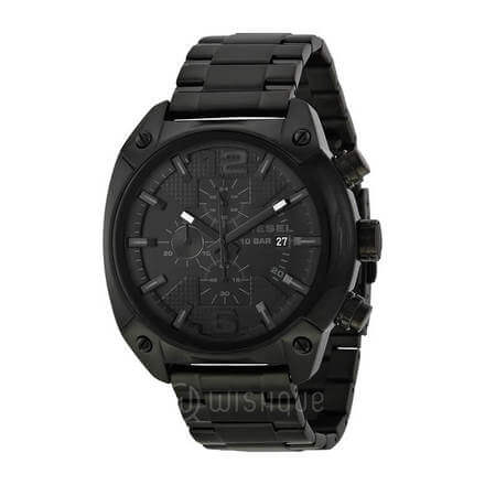 Diesel Advanced Chronograph Black Dial Men's Watch
