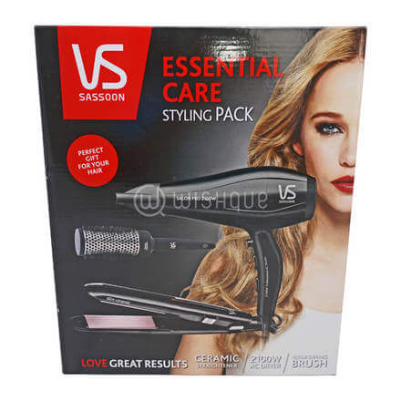VS Sassoon Essential Care Styling Pack
