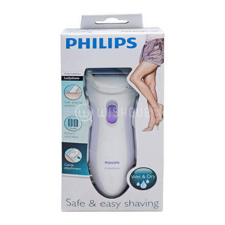 Philips Ladyshave  HP6342  Shaver Safe