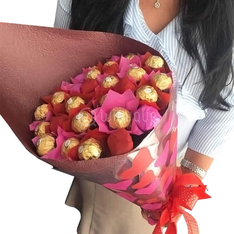 Magical Love Chocolate Bouquet - Wishque | Sri Lanka\'s Premium ...