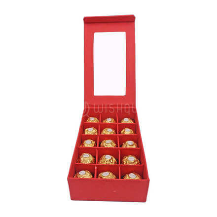 Red Love Rocher Box