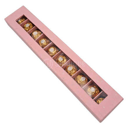 Pink Rocher Box