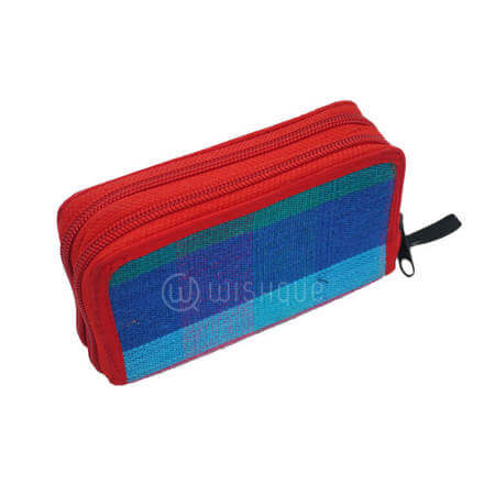 Red Mixed Blue Purse