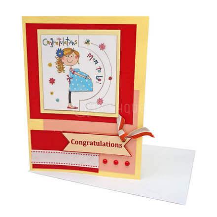Congratulations! Mom to be Card