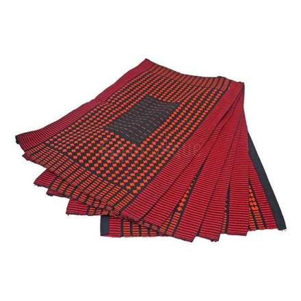 Maroon Table Mat 6 Pieces