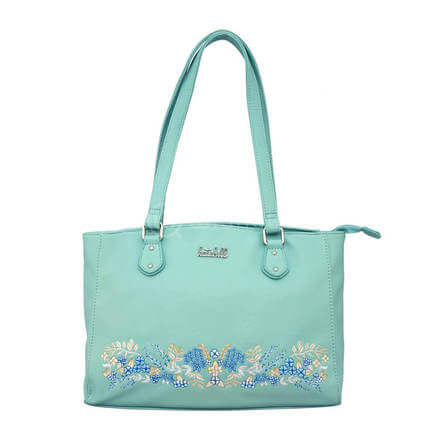 Kate Hill Alyson Embroid TOTE W17