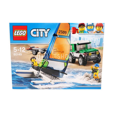 LEGO City Great Vehicles 4x4 with Catamaran