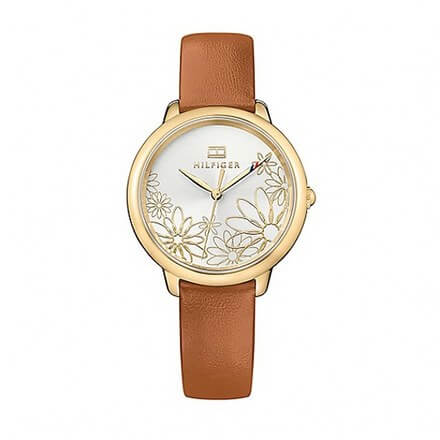Tommy Hilfiger Ladies Flower Dial Watch