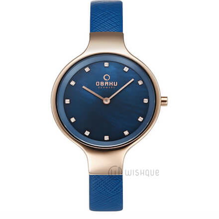 OBAKU Sky Navy  V173LXVLRA Ladies' Watch