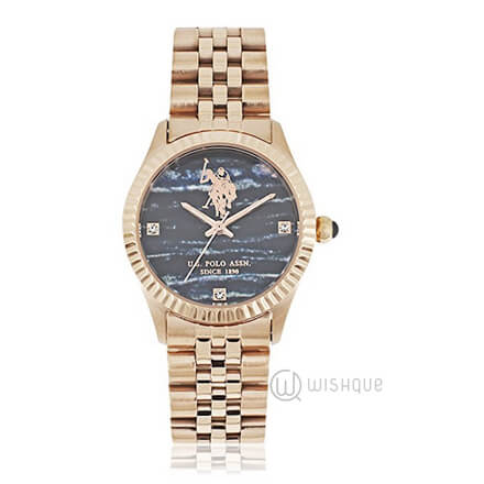 US POLO ASS USP5496BK Ladies' Watch
