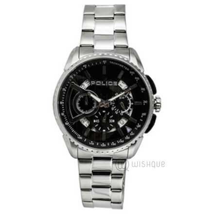 POLICE Stainless Steel Cronograph PL-13648MS/02M Mens' Watch