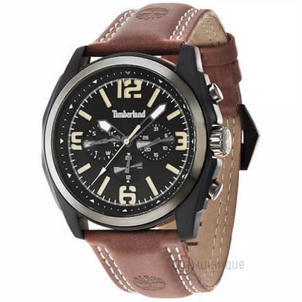 TIMBERLAND TBL.14366JSBU/02 Brown Leather Mens' Watch