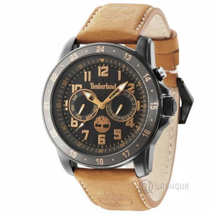 TIMBERLAND TBL.14109JSB/02 Brown Leather Mens' Watch