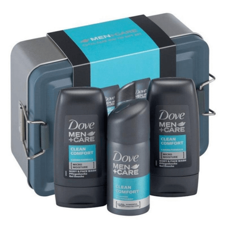 Dove For Men Mini Tin 3 Piece Gift Set