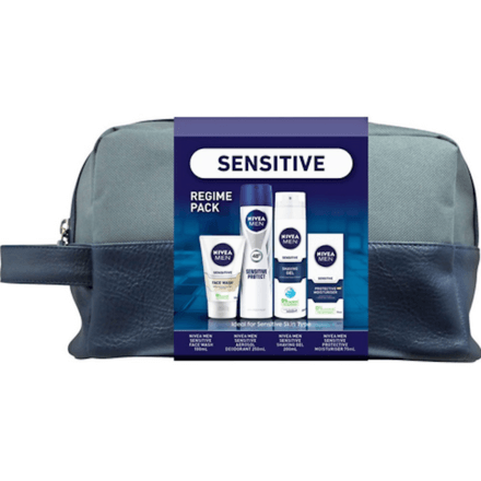 Nivea Men Sensitive Regime Gift Bag