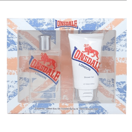 Lonsdale London 2 Piece Gift Set 100ml