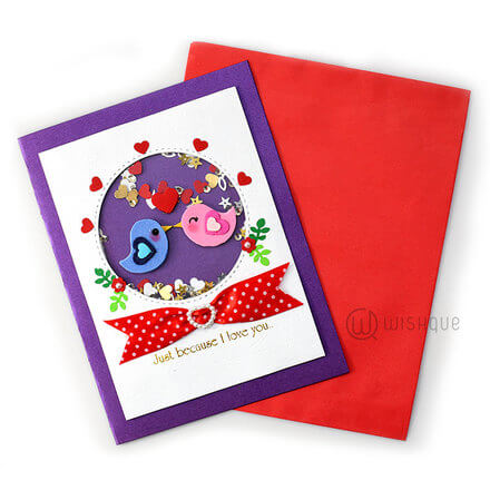 Lots Of Kisses Card