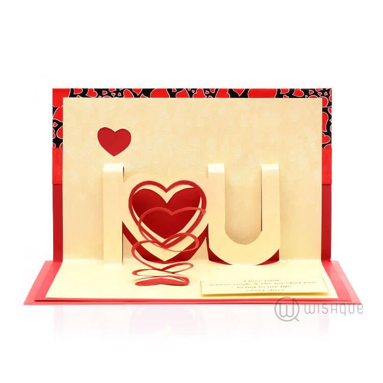 i love you valentine card wishque sri lanka s premium online
