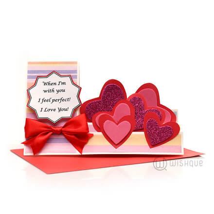 Greeting cards wishque sri lankas premium online shop send when im with you m4hsunfo