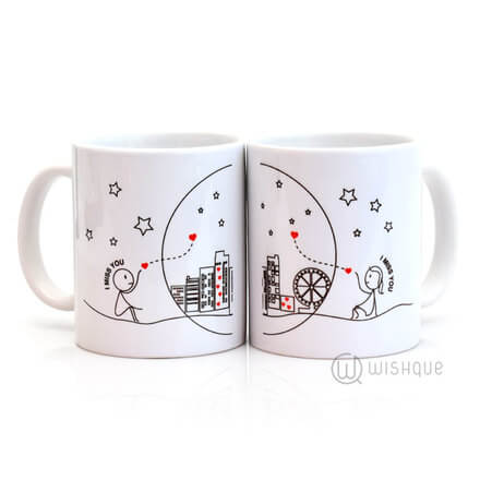 I Miss You Couple Mug